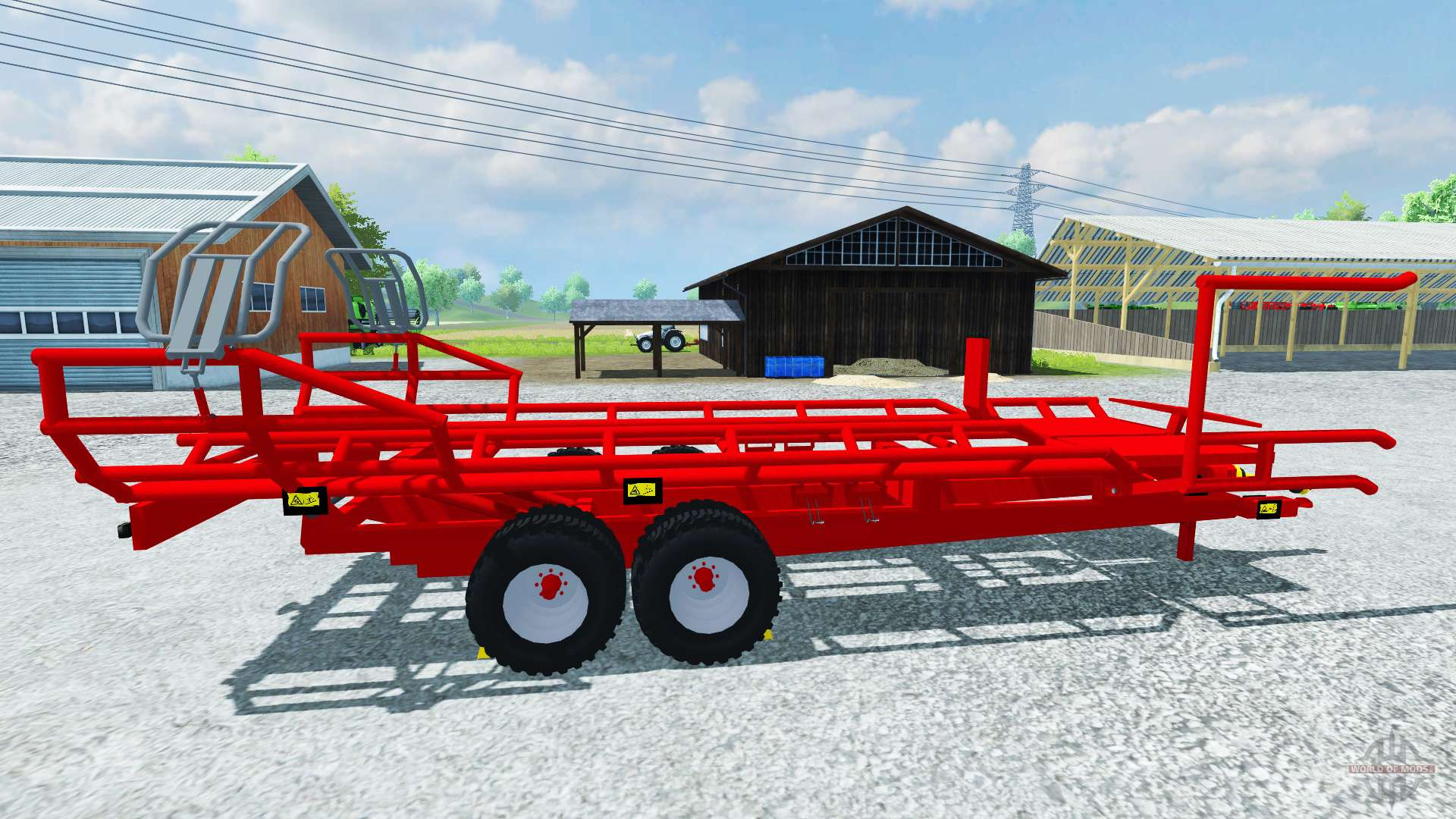 Le pick up arcusin balle ronde rb autostack pour farming simulator 2013