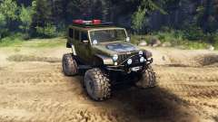 Jeep Wrangler Unlimited SID Green