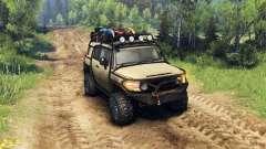 Toyota FJ Cruiser brun