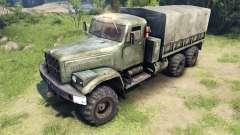 De nouvelles textures pour les roues KrAZ-255