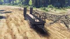 Trailer tow truck MAN 19414