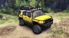 Toyota FJ Cruiser jaune