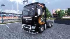 Couleur-Rammstein - sur le camion MAN