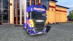 Farbe-Red Bull - LKW Scania