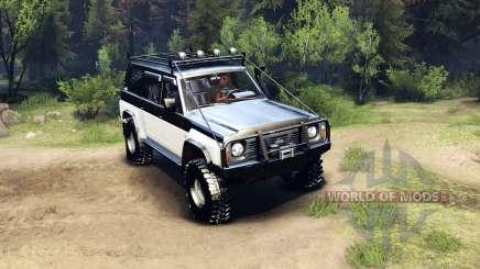 Nissan Patrol Y60 für Spin Tires