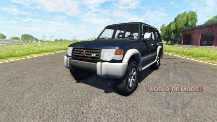 Mitsubishi Pajero 1993 für BeamNG Drive