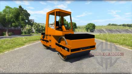 L'asphalte roller Caterpillar pour BeamNG Drive