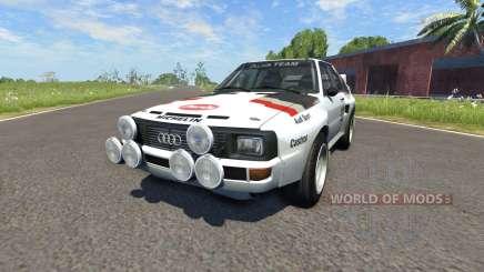 Audi Sport Quattro B2 (Typ 85Q) 1984 pour BeamNG Drive