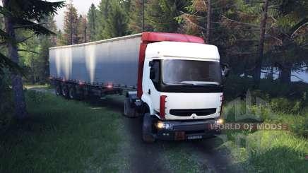 Renault Premium White für Spin Tires