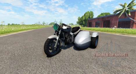 Ducati FRC-900 with a sidecar v4.0 pour BeamNG Drive
