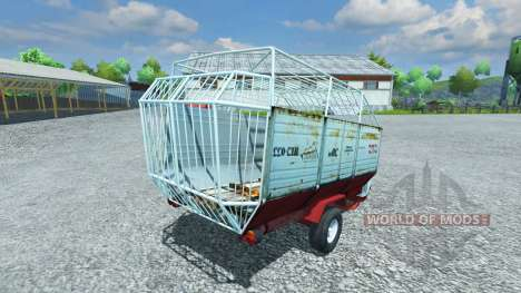 Futter trailer HORAL MV 022 für Farming Simulator 2013