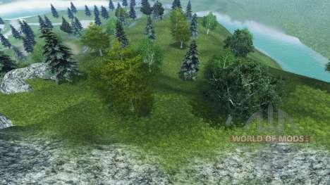 De nouvelles textures des arbres et de l'herbe pour Farming Simulator 2013
