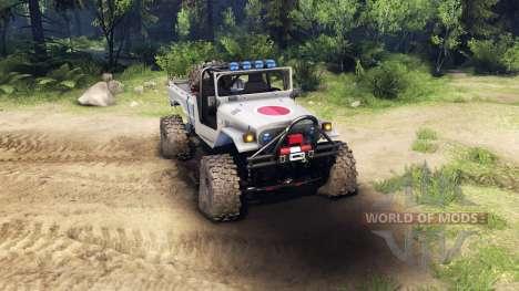 Toyota FJ40 Zero pour Spin Tires