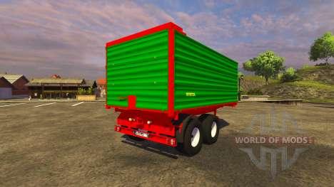 Trailer Stetzl Tk13 v1.3 pour Farming Simulator 2013