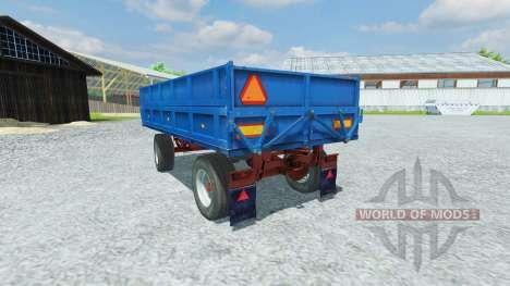 Remorque FORTSCHRITT HW 80.11 pour Farming Simulator 2013