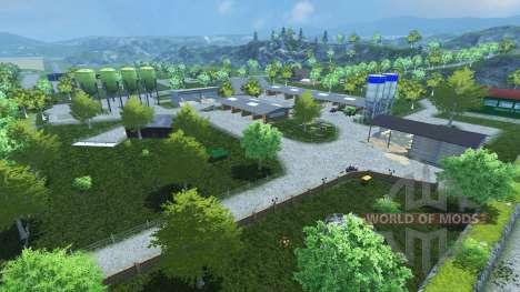 Friesenmap pour Farming Simulator 2013