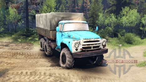 ZIL-165 pour Spin Tires