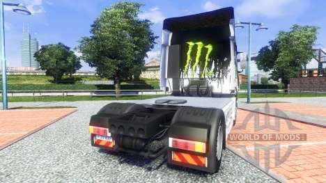 Farbe-Monster Energy - für Iveco truck für Euro Truck Simulator 2