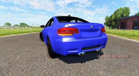 BMW M3 E92 2008 pour BeamNG Drive