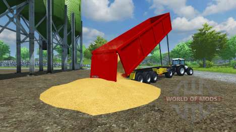 Die semi-trailer Schmitz SKI-50 v2.0 für Farming Simulator 2013