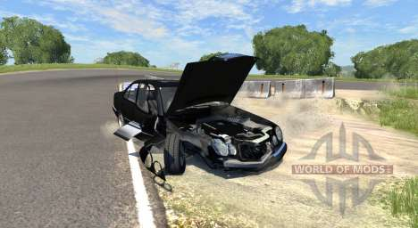 Mercedes-Benz E420 W124 stock pour BeamNG Drive