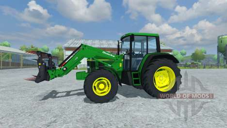 John Deere 6506 FL v2.5 pour Farming Simulator 2013