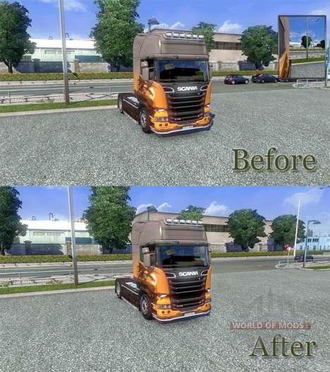 Geändert Physik [Final version] für Euro Truck Simulator 2