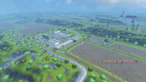 Drebbermap für Farming Simulator 2013