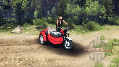 IZH Planeta-5 pour Spin Tires