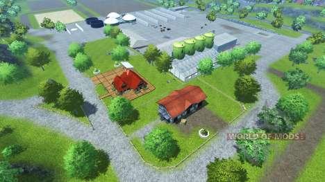 Bahlen Map pour Farming Simulator 2013