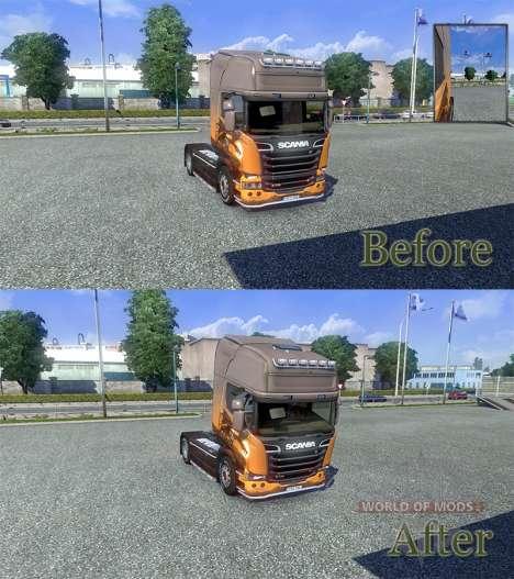 Physique modifiée [version Finale] pour Euro Truck Simulator 2