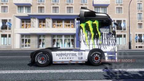 Farbe-Monster Energy - Traktor Majestic für Euro Truck Simulator 2