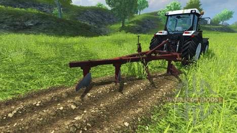 Der Pflug PLN-4-35 für Farming Simulator 2013