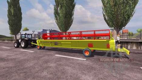 Reaper CLAAS 900 Vario 2008 für Farming Simulator 2013