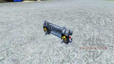 Appareil pour la capture de Reaper pour Farming Simulator 2013