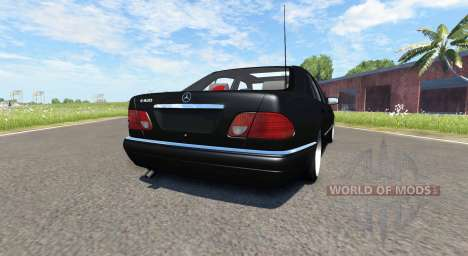 Mercedes-Benz E420 W124 tuning pour BeamNG Drive