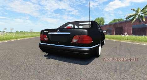 Mercedes-Benz E420 W124 tuning für BeamNG Drive