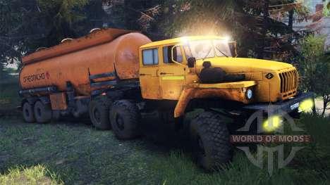 Ural-4320-41 für Spin Tires