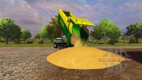 Remorques Ravizza Millenium 8200 pour Farming Simulator 2013