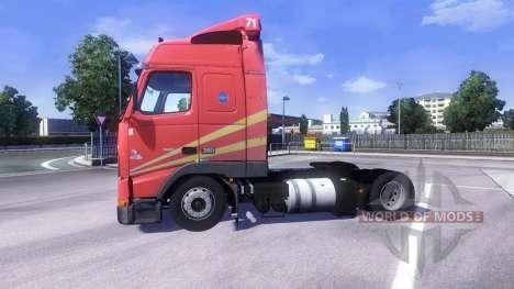 Volvo FH12 Globetrotter für Euro Truck Simulator 2