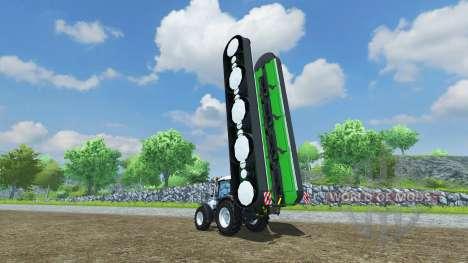 The mower Deutz-Fahr KM 4.90 für Farming Simulator 2013