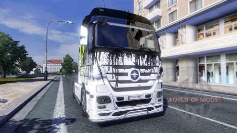 Couleur-Monster Energy - tracteur Majestueux pour Euro Truck Simulator 2