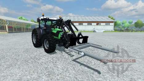 Gabeln für die be-Rundballen für Farming Simulator 2013