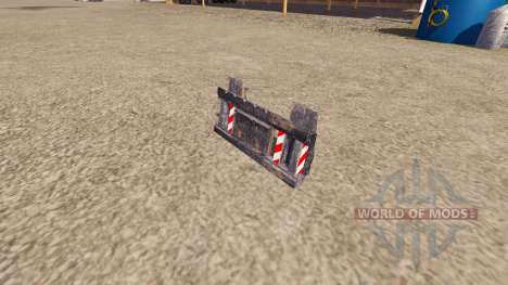 Monté sur un camion de l'équipement pour Farming Simulator 2013