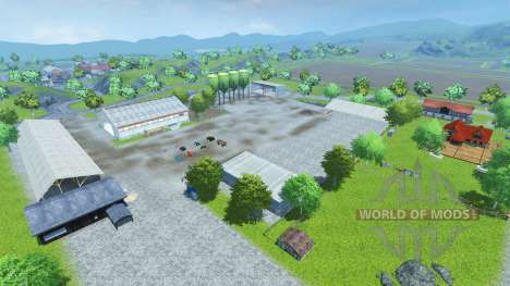 Drebbermap pour Farming Simulator 2013
