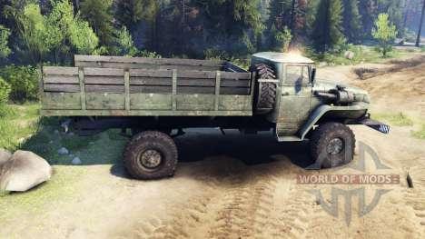 Ural-43206 für Spin Tires