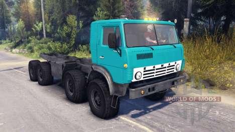 KamAZ-6350 pour Spin Tires