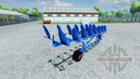 Плуг Lemken EuroDiamant pour Farming Simulator 2013