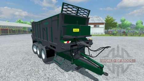 Trailer Tebbe HS 320 für Farming Simulator 2013