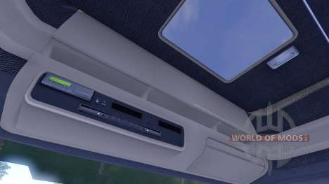 Scania T500 Mark 2 black parts für Euro Truck Simulator 2